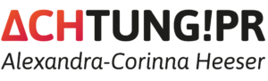Logo ACHTUNG!PR farbig